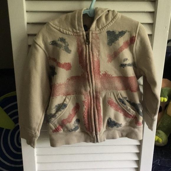Gap Boys 4T distressed Union Jack jacket 090e51fd1